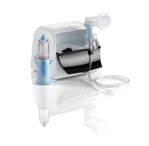 Raffreddore del bambino - Aerosolterapia con Rinowash doccia nasale