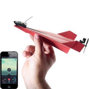 aeroplano di carta telecomandato