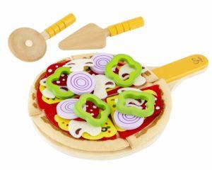 giocattoli legno bambini - pizza legno