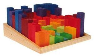 blocchi legno Grimm's Toys