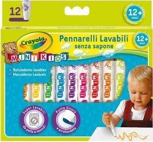 CRAYOLA- Mini Kids Pennarelli, Inchiostro Super Lavabile