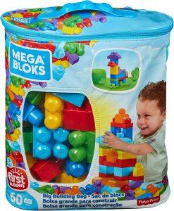 Mega Bloks- Sacca Ecologica Blocchi da Costruzione