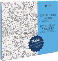 Omy - Poster da colorare gigante - giochi creativi