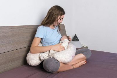 cuscino allattamento serpentone