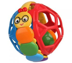 Baby Einstein Palla Giocattolo Bendy Ball - giochini neonati 5 mesi