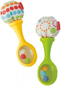 Fisher-Price Le Maracas per Neonati con Impugnature Soffici