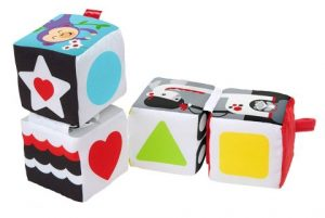 Fisher-Price- Soffici Cubi Gira e Impara