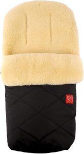 Kaiser, Sacco termico in pelliccia di agnello, Nero (Schwarz)