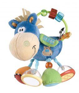Playgro Plüschrassel Pferd