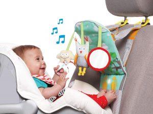 Taf Toys 11835 - Gioco da Macchina Play & Kick - giochini neonati 5 mesi