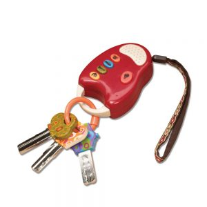 B.Toys Battat Chiavi Fun Key Rosso