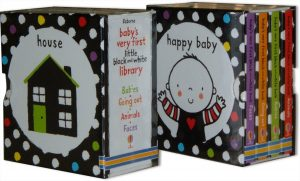 Baby's Very First Black and White Little Library (box set) (Inglese)