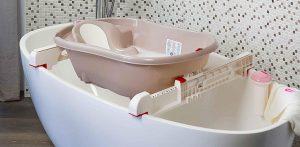 Ok Baby Barre di Supporto per Vaschetta da bagno