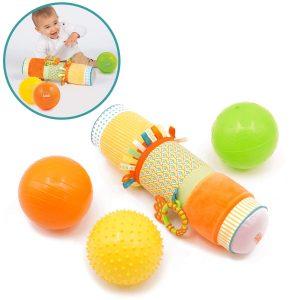 Ludi Cofanetto sensoriale - giochini neonati 6 mesi