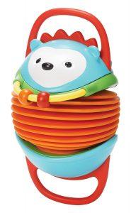 Skip Hop Hamper, Riccio fisarmonica, giocattolo, Multicolore - giochini neonati 6 mesi