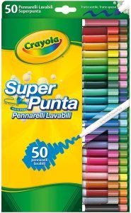 Super Punta Crayola - colori per bambini