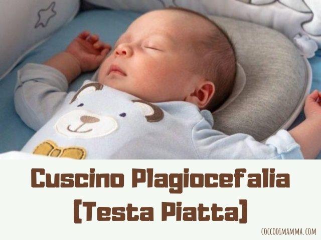 cuscino plagiocefalia
