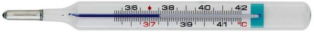 termometro per bambini vetro
