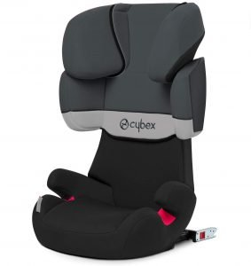 Cybex Silver, Seggiolino Auto Solution X-Fix, Gruppo 2/3, 15-36 kg, con ISOFIX