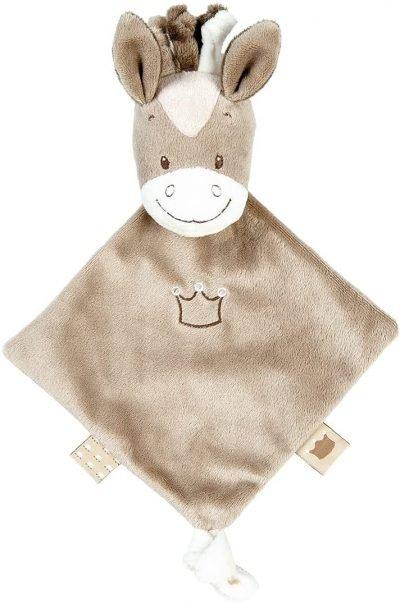 Nattou - Mini copertina doudou, con personaggio di Noa il cavallino