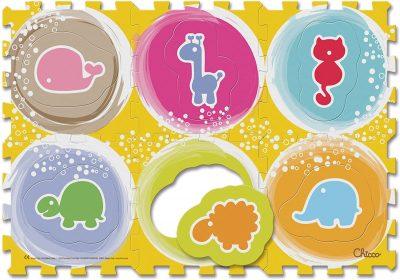 Chicco - Tappeto Puzzle Degli Animali