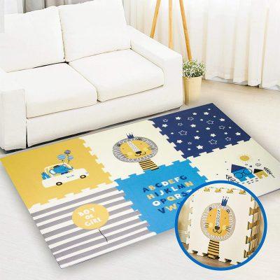 Gupamiga - Tappeto Puzzle Gioco per Bambini