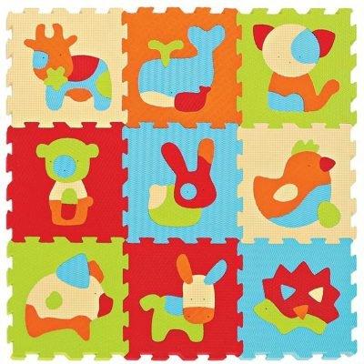 Ludi - Tappeto Puzzle degli Animali