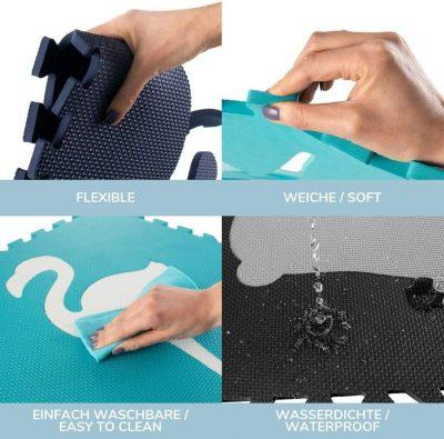 caratteristiche tappeto puzzle